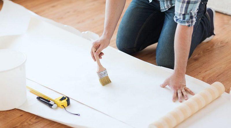 Patarimai, kaip savarankiškai klijuoti tapetus